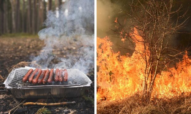 Co-op have stopped the sale of disposable barbecues near national parks because of links to wildfires and littering.