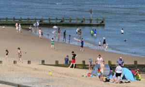 It's been beach weather for as long as anyone can remember in the north-east, and that's not natural