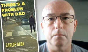 Carlos Alba's latest novel, There's a Problem with Dad.