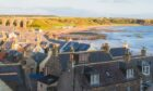 Sean and family enjoyed a visit to picturesque Cullen on their mini Moray tour.