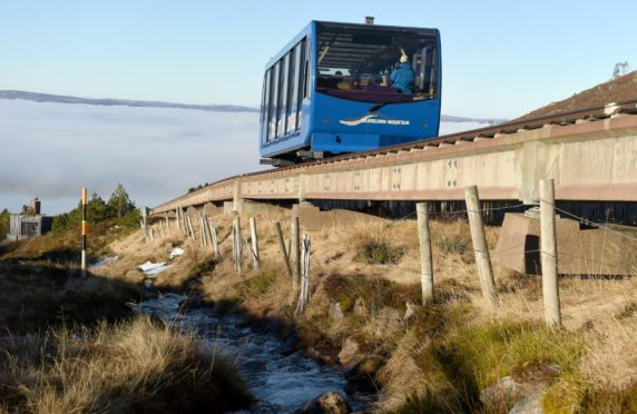 The Cairngorm funicular has been out of action since 2018.