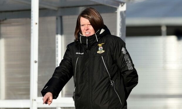 Caley Jags manager Karen Mason.