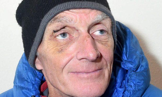 Climber Rick Allen. Photo: Darrel Benns/DCT Media
