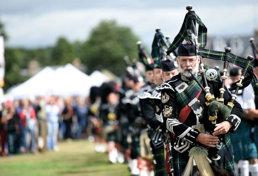 Aboyne Highland Games in 2018. Picture by Hetaher Fowlie.
