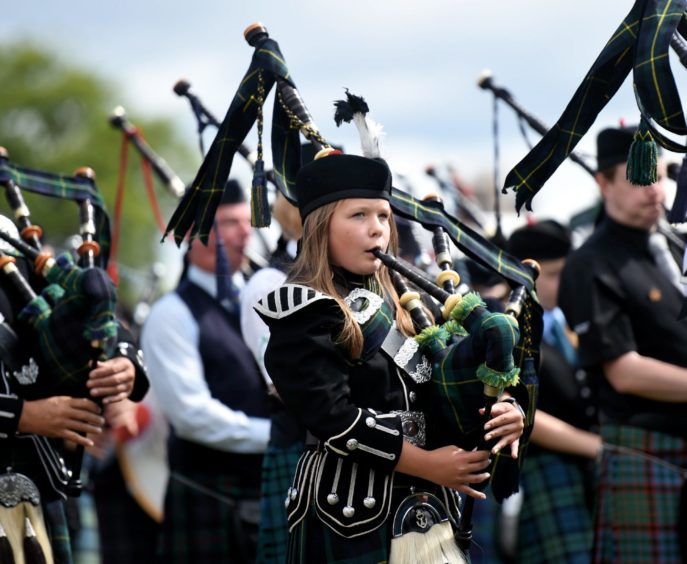 Aboyne Highland Games in 2018. Picture by Heather Fowlie.