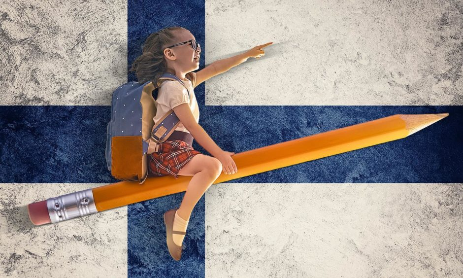 Why does Finland, with an identical population to Scotland, consistently produce higher achieving school pupils?
