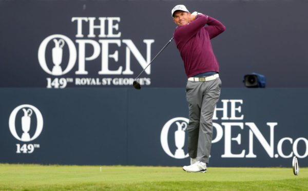 Padraig Harrington played all four rounds at Sandwich.