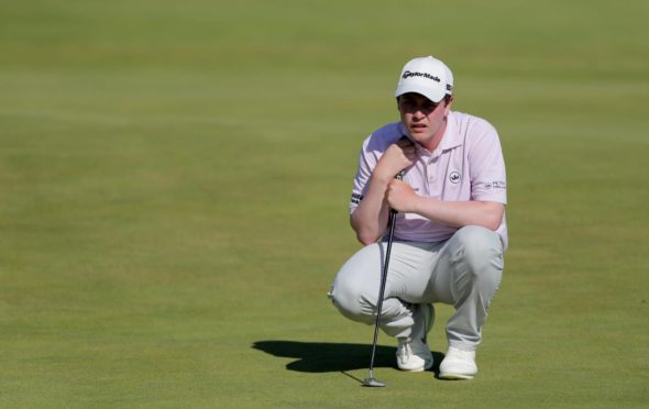 Robert MacIntyre rallied after his 14th hole mistake to finish in the top ten.