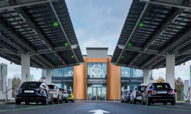 The UK's first fully-electric forecourt in Essex - will Scotland follow suit?