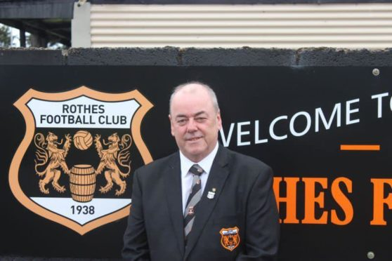 Tributes have been paid to Garry Davies, secretary of Rothes FC
