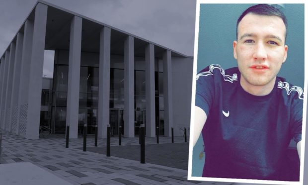 Gavin Hampton was fined £270 for making the homophobic remark to police.