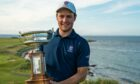 Crail's George Burns is hoping to defend his title.