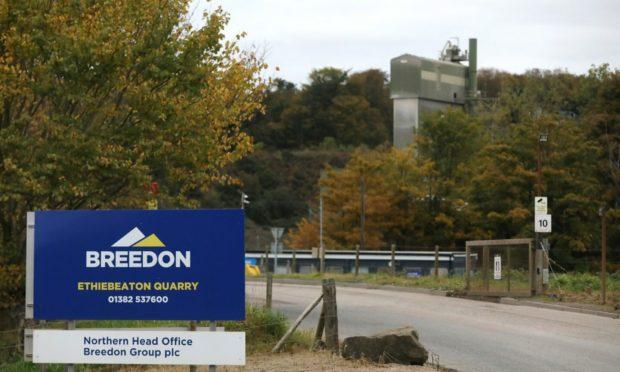 Breedon Ethiebeaton Quarry near Monifieth