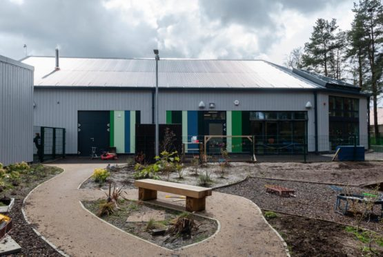 A new space for kids to experience outdoor learning has been created at Gordon Primary, Huntly