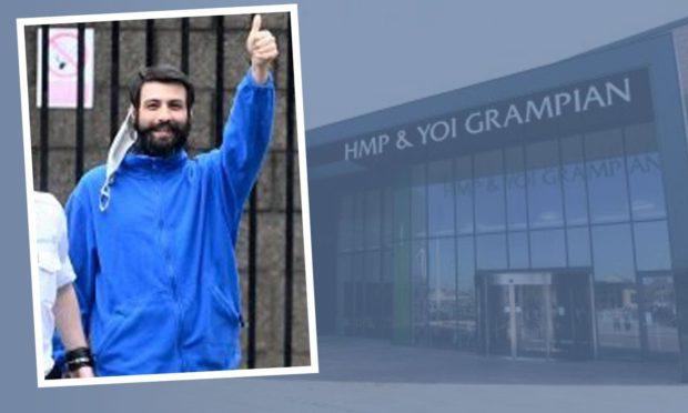 Ovidiu Dinu appeared at Peterhead Sheriff Court via video link.