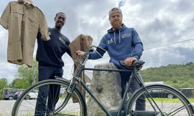 Best friends Jakeem Addman and Richard Brown are cycling over 1,000 miles to fundraise for Help for Heroes.