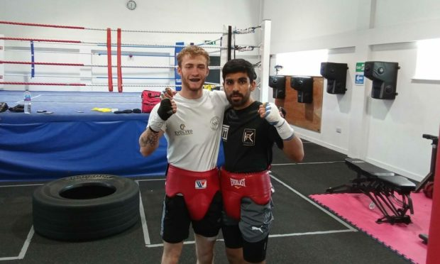 Undefeated boxer Billy Stuart has sparred with WBC international champion Kash Farooq.