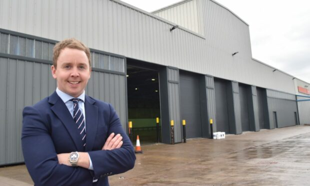 """""""Aberdeen's industrial market is definitely still challenging, but I am very positive and optimistic things are on an upward trend"""" - Iain Landsman, CBRE"""