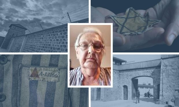 Mauthausen Concentration Camp, near Linz, Austria. The concentration camp was liberated by U.S. troops on May 5, 1945.