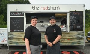 Ann Marie and Jamie Ross, owners of The Redshank.