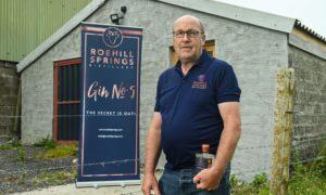 Duncan Morrison of Roehill Springs Distillery.