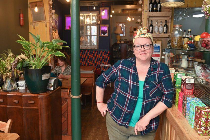 Sarah Helen Doonan, owner of Cafe Kombucha.