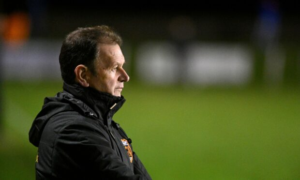 Rothes manager Ross Jack.