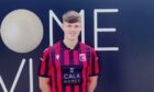 Inverurie Locos player James Connolly