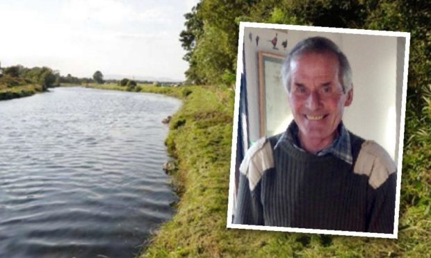 James Sinclair died in the Canterland beat of the River North Esk.