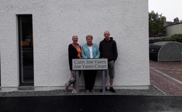 Hilary Ross, Rosemary Yates and Gary Yates