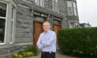 Martin Thomson and his family will be sad to say goodbye to their beautiful Aberdeen home.