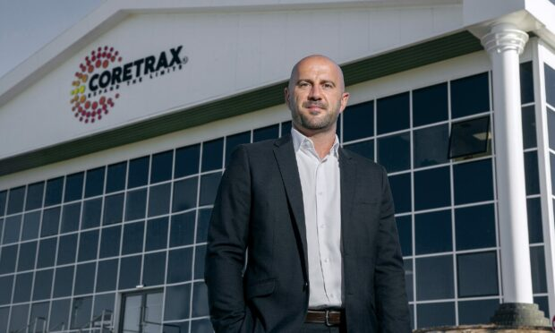 Coretrax's EARC (Europe, Africa, Russia and Caspian) regional manager, Keith Bradford, at the firm's new Aberdeen headquarters.