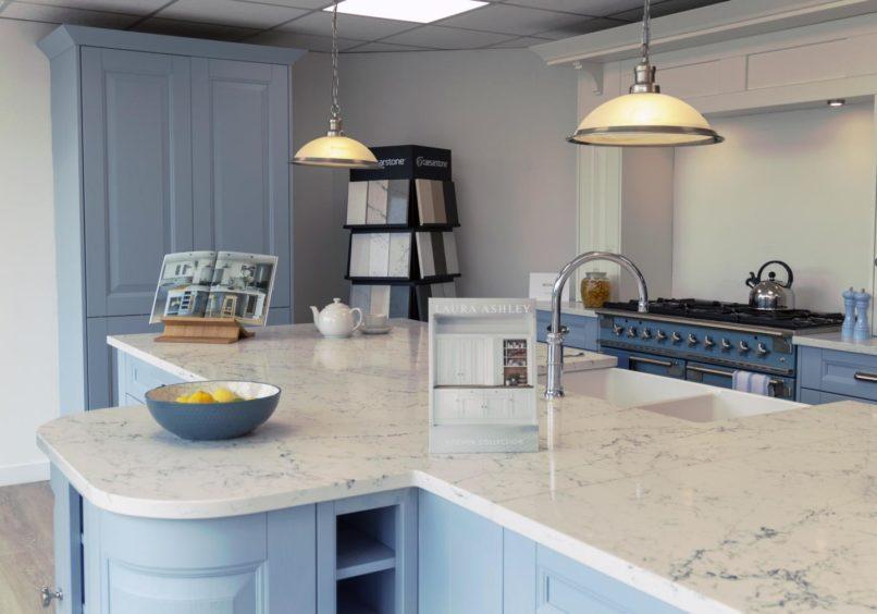 Kitchen home makeover in Aberdeen