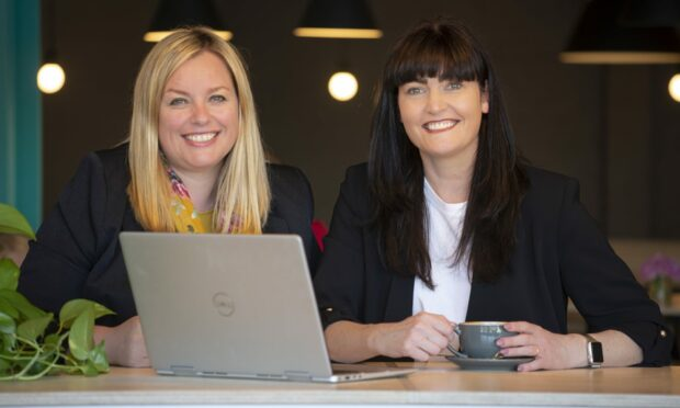 Louise Jenkins-Lang, left, and Fiona Lindsay run Lindsay & Lang, a north-east management consultancy.