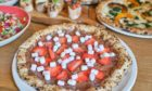 Mac's Pizzeria's dessert pizzas.