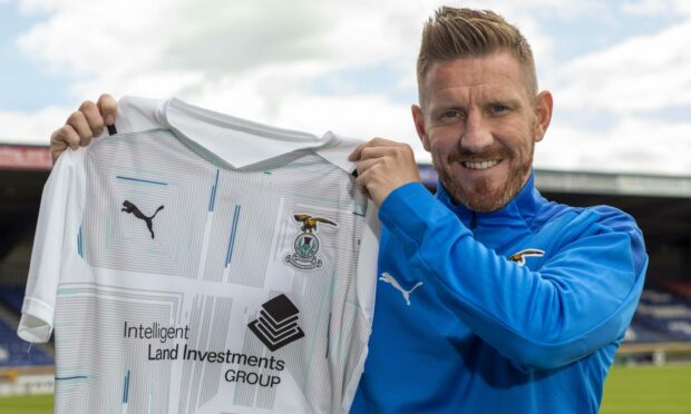 Michael Gardyne is looking forward to doing the business for Billy Dodds at Caley Thistle.