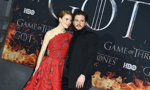 Rose Leslie and Kit Harington to star in MS charity campaign video.