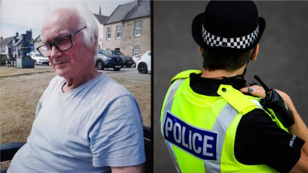 To go with story by Craig Munro. Alan Reid has been reported missing from Elgin. Picture shows; Alan Reid. Elgin, Moray. Supplied by Police Scotland Date; 26/07/2021