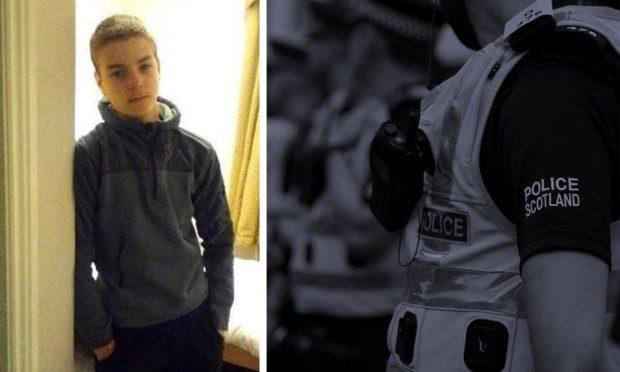 Missing 16-year-old Lewis Thorpe.