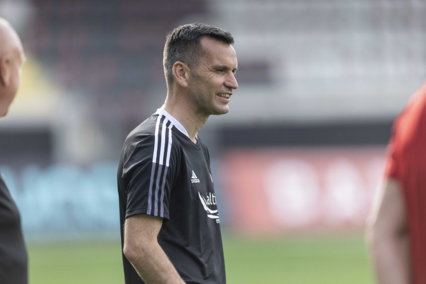 Aberdeen manager Stephen Glass is leading the Dons in Europe for the first time.