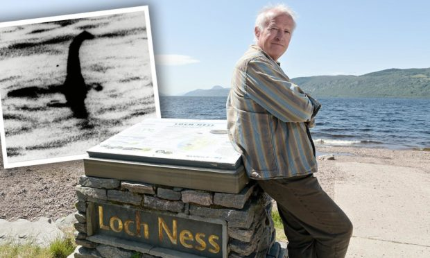 Steve Feltham is celebrating 30 years of hunting for Nessie. Picture by Sandy McCook/Shutterstock