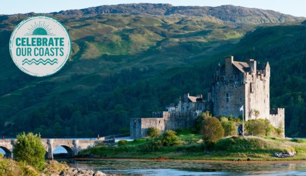 Scotland boasts a wealth of spectacular coastal castles, including Eilean Donan Castle.