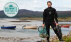 Guy Grieve, scallop diver and owner of The Ethical Shellfish Company.