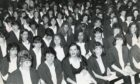 The trainee teacher class of 1993 packed out the theatre at Aberdeen College of Education when collecting their degrees in primary education.