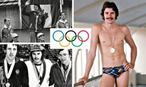 Aberdeen swimmer David Wilkie won a gold medal for 200-metre breaststroke at the Montreal Summer Olympics in 1976.