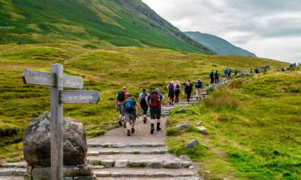 Ben Nevis is open to Scots on staycation this summer.