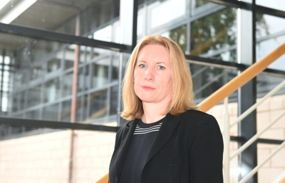 NHS Grampian chief executive Caroline Hiscox says waiting lists for hospital appointments are the highest she's ever seen them.