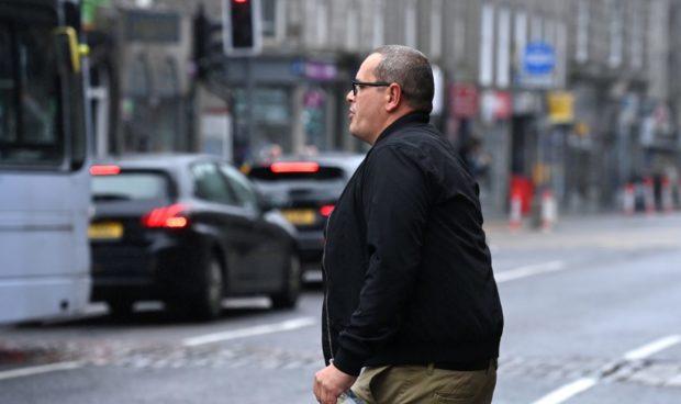 Matthew Hill leaves Aberdeen Sheriff Court