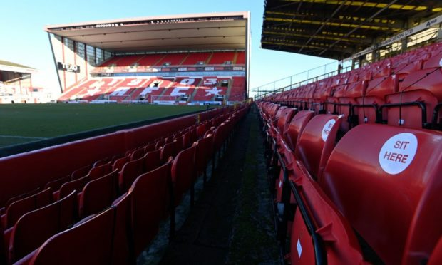 Fans will be welcomed back to Pittodrie for the Europa Conference League tie against BK Hacken.