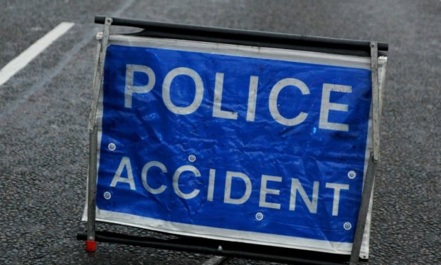 Two vehicles have crashed on the A87 Invergarry- Kyle of Lochalsh road.